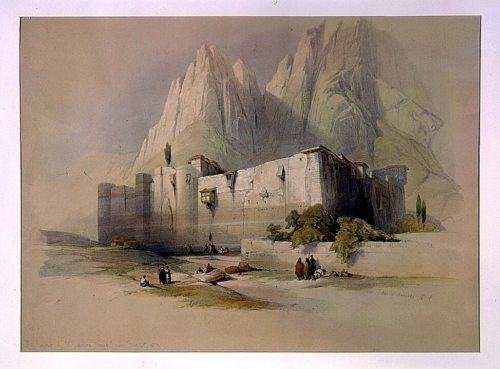 The convent of St_ Catherine Mount Sinai Feb 21st 1839