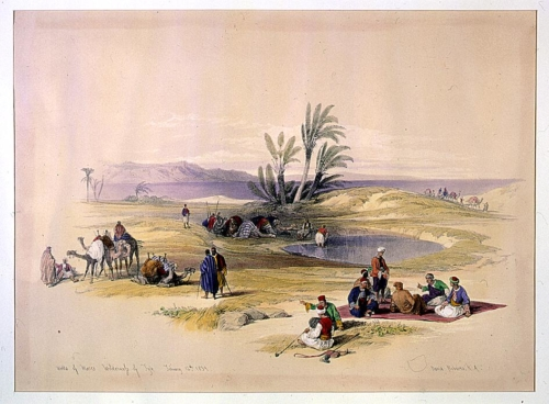Wells of Moses wilderness of Tyn February 12th 1839
