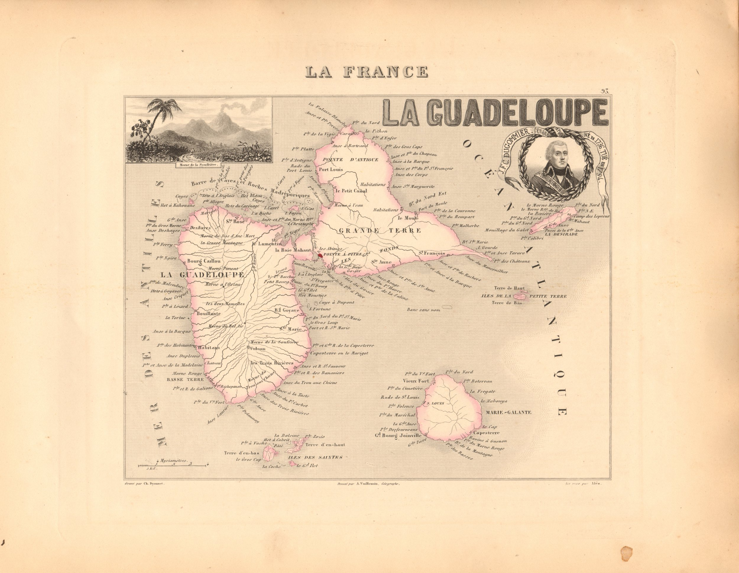 La Guadeloupe - French Atlas Map