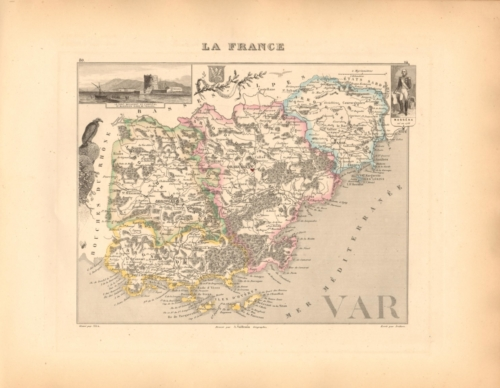 Var - French Department Map