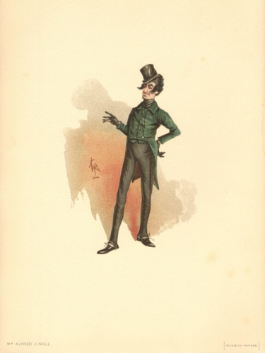 Alfred Jingle from The Pickwick Papers