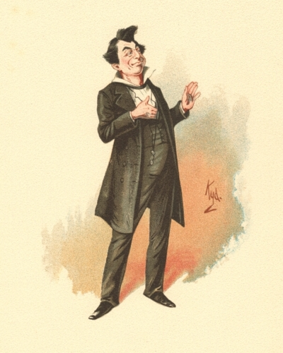 Mr Pecksniff from Martin Chuzzlewit