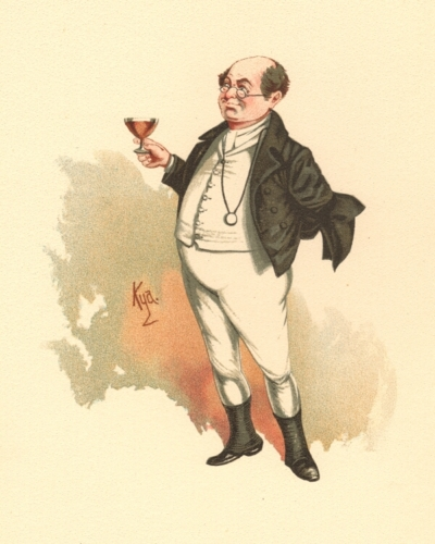 Mr Pickwick from The Pickwick Papers
