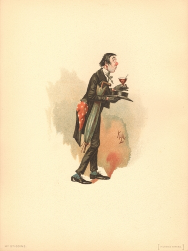 Mr Stiggins from The Pickwick Papers