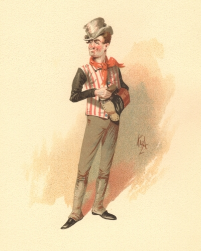 Sam Weller from The Pickwick Papers