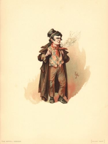 The Artful Dodger from Oliver Twist