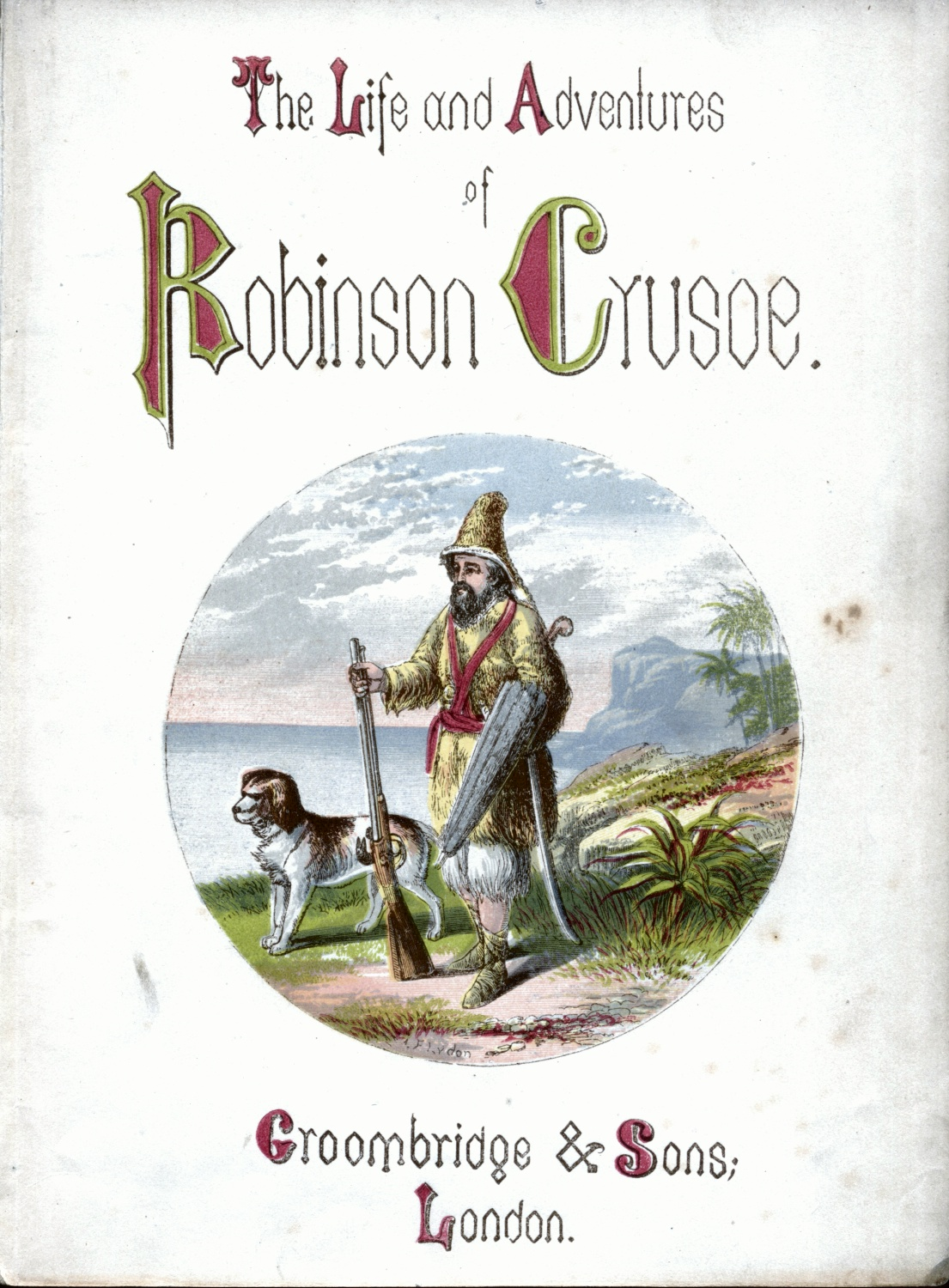 Title Page-Lydon-Crusoe