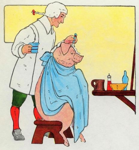 Barber, Barber, Shave a Pig