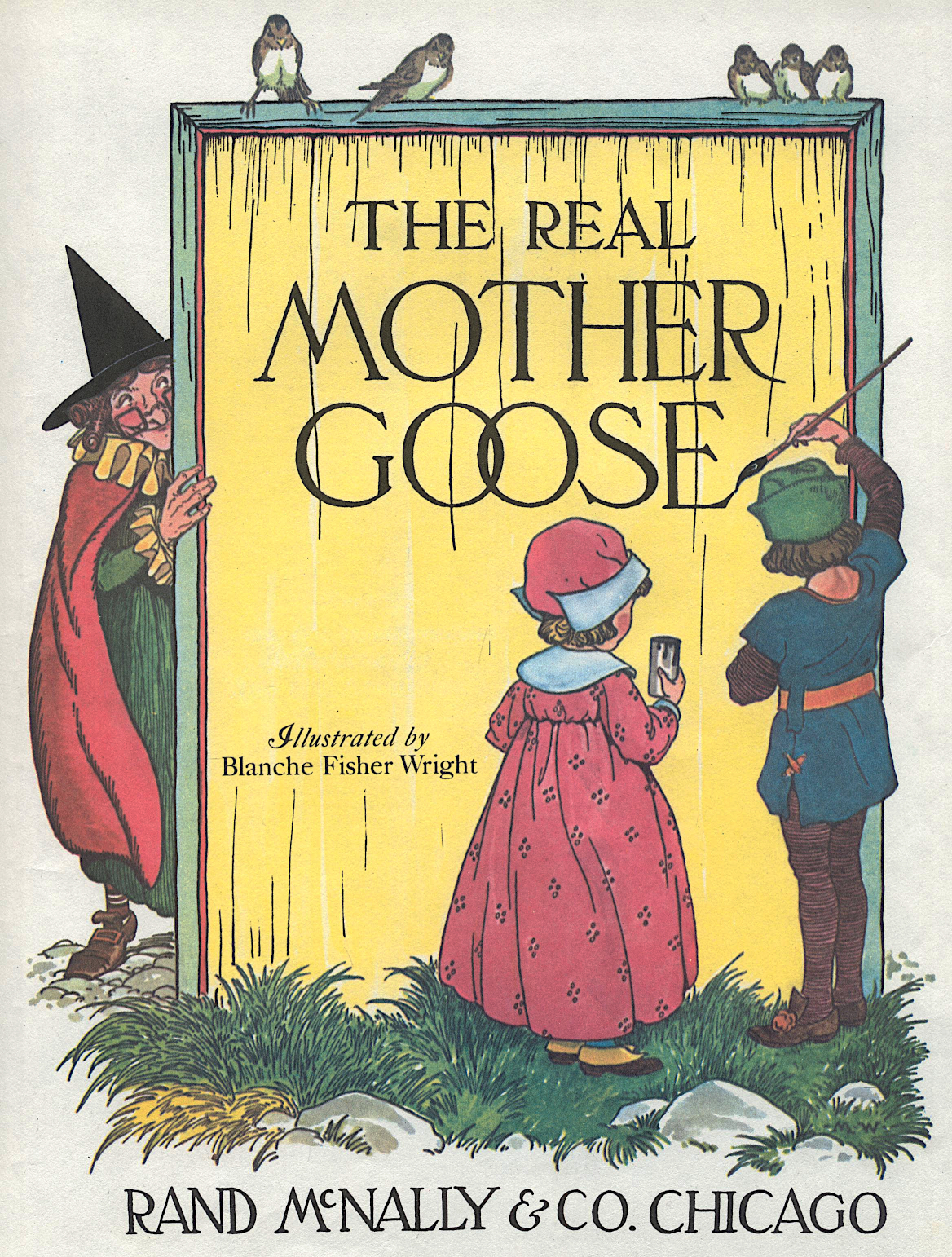 Mother Goose Title Page