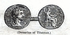 Denarius of Tiberius