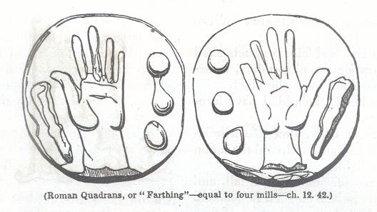 """Roman Quadrans, or """"Farthing"""""""