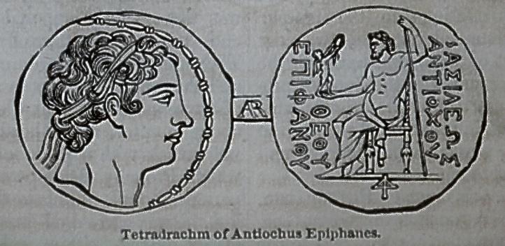 Tetradrachm of Antiochus Epiphanes
