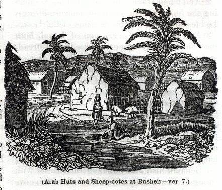 Arab Huts and Sheep-cotes at Busheir