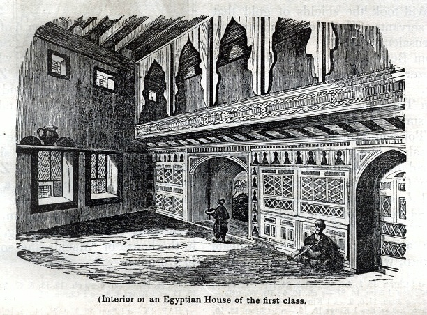 Interiof of an Egyptian House of the first class