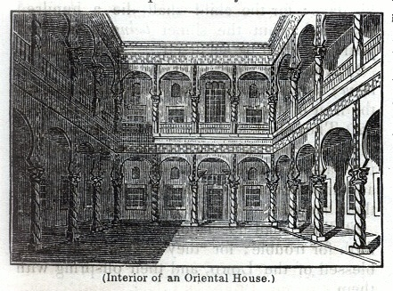 Interior or and Oriental House