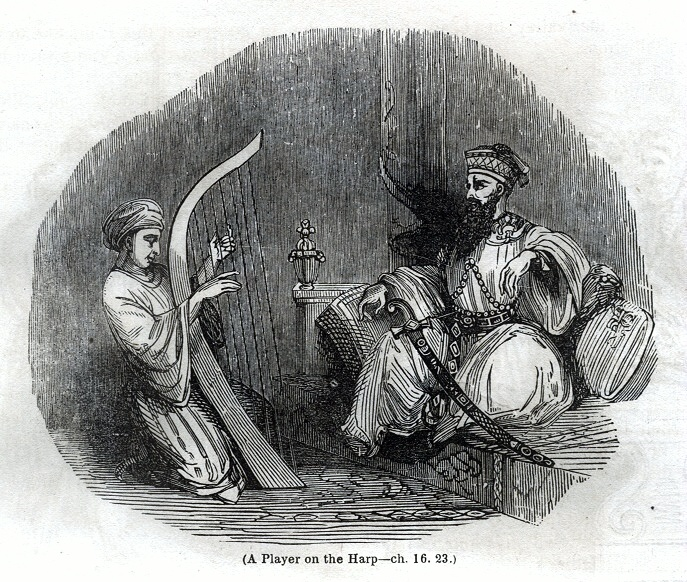 A Player on the Harp