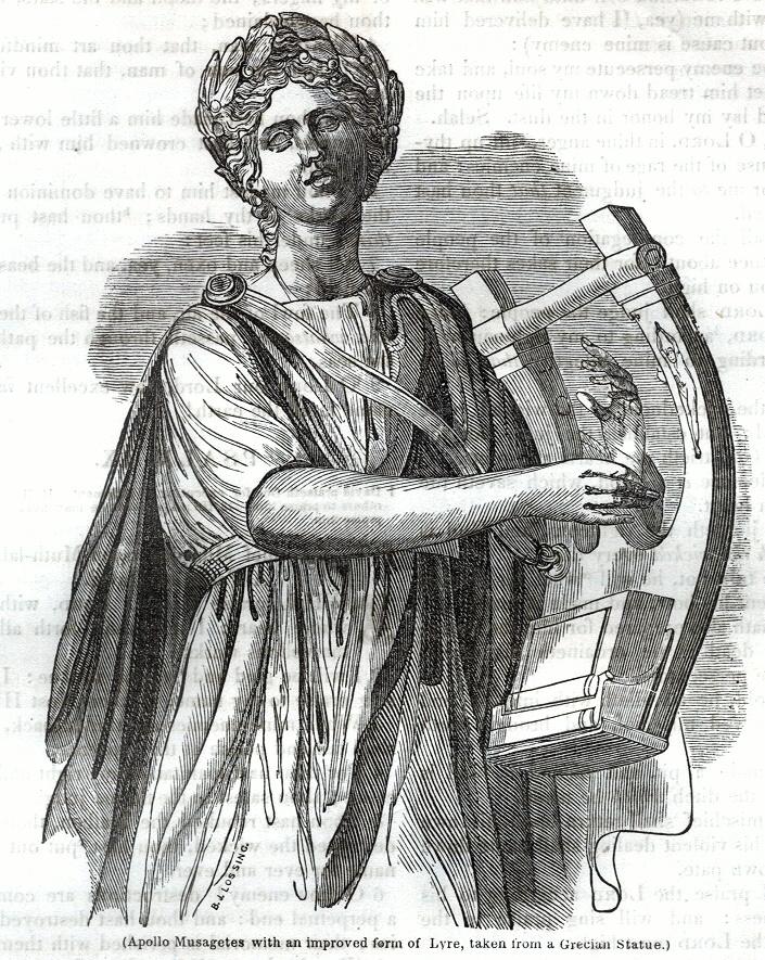 Apollo with Lyre