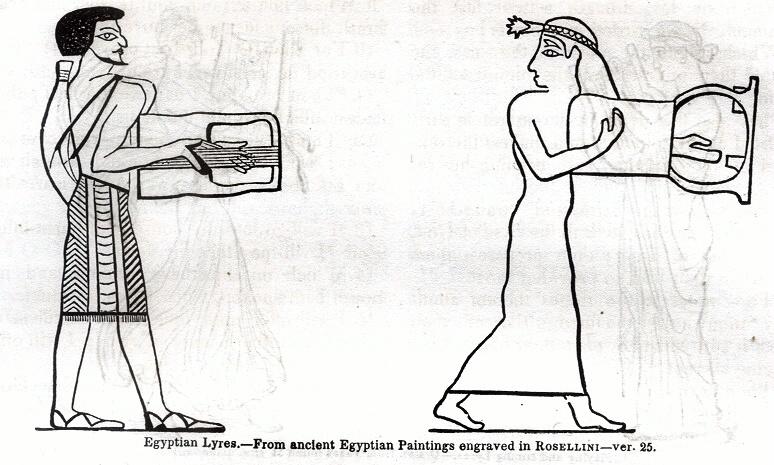 Egyptian Lyres