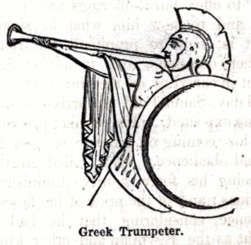 Greek Trumpeter
