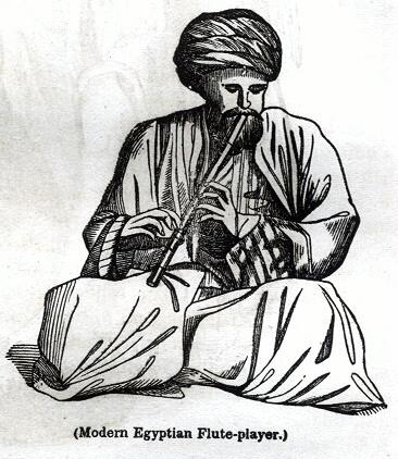 Modern Egyptian Flute-player