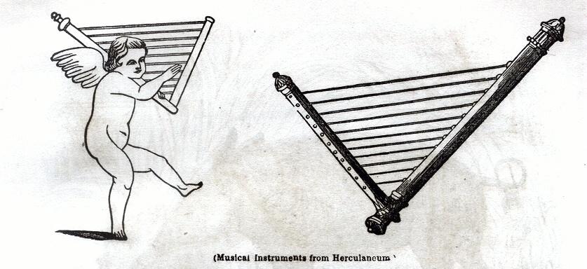 Musical instruments from Herulaneum