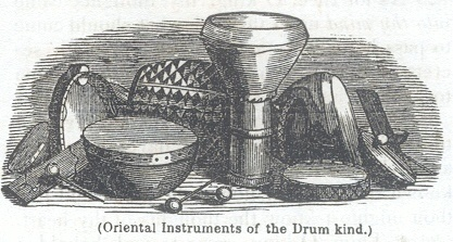 Oriental Instruments of he Drum kind