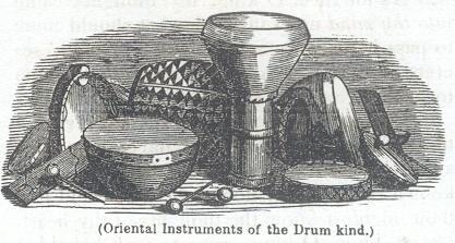 Oriental Instruments of he Drum kind