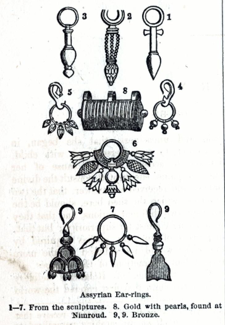 Assyrian Ear-rings