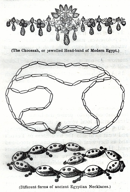 The Ckoossah, or jewelled Head-band of Modern Egypt