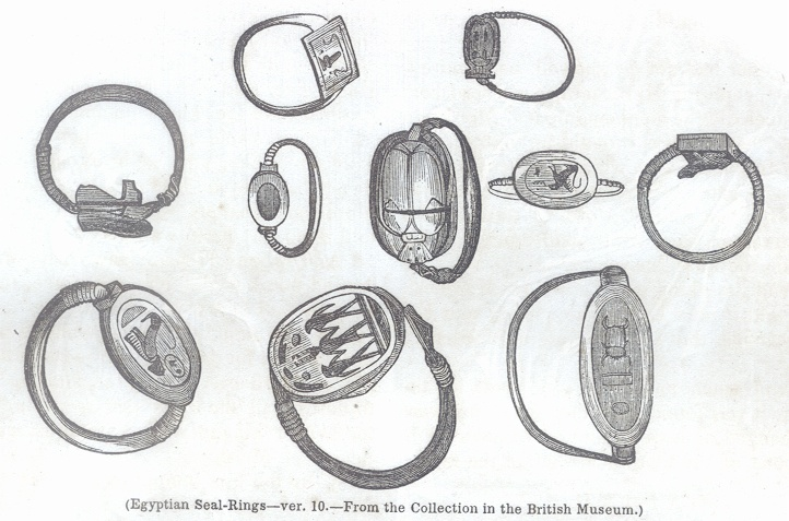 Egyptian Seal-RIngs