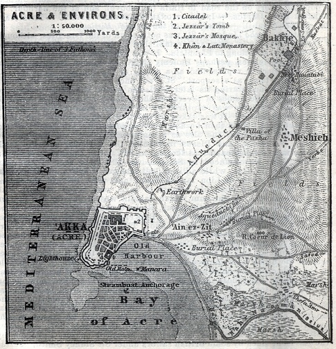 Acre & Environs Map
