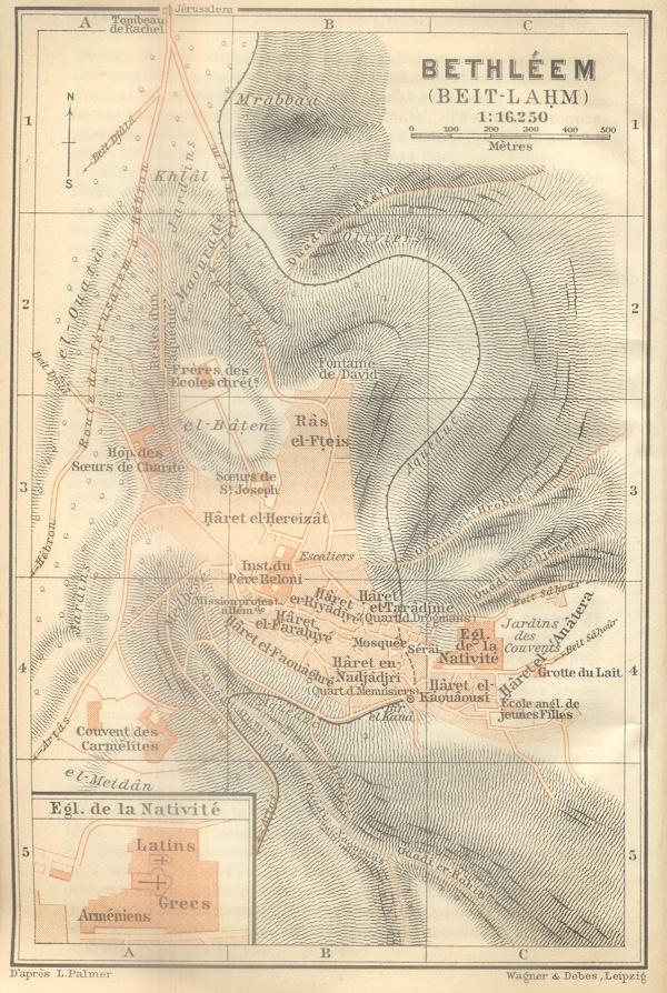 Bethleem Map