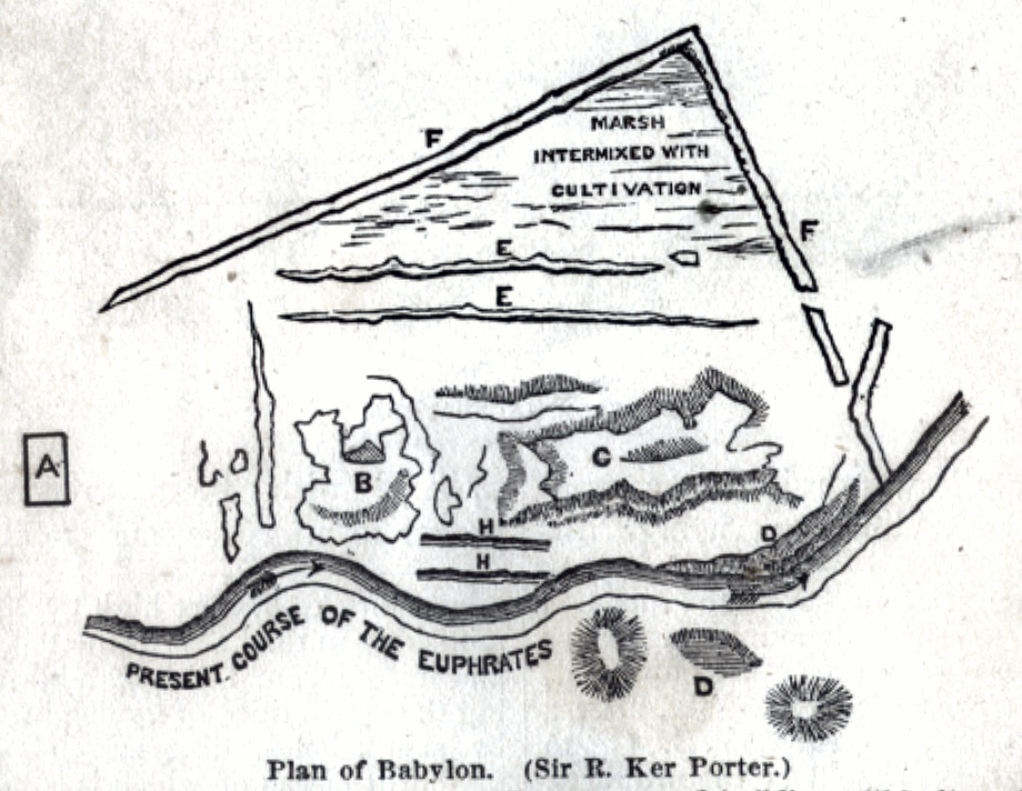 Plan of Babylon