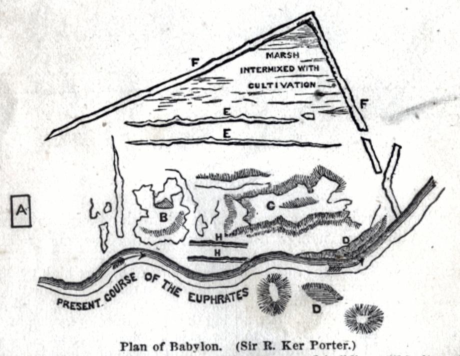 Plan of Babylon