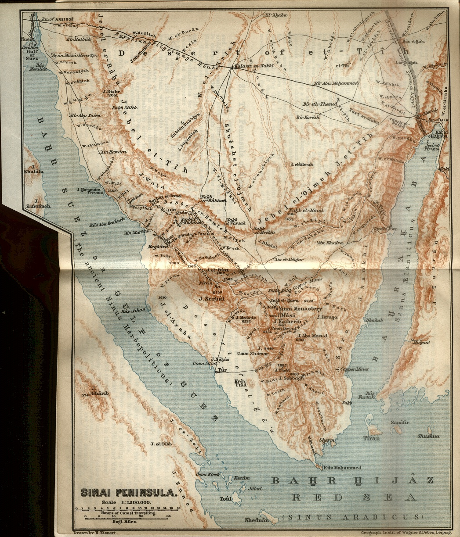 Sinai Peninsula Map