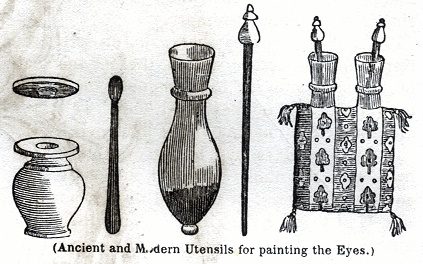 Ancient and Modern Utensils for painting the eyes