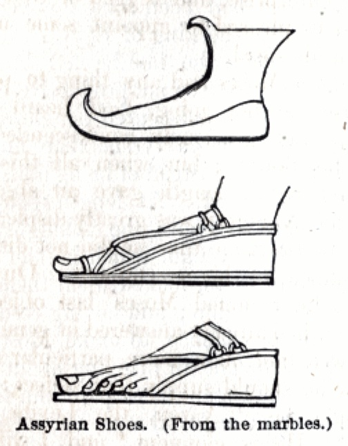 Assyrian Shoes (from marbels)