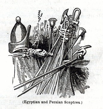 Egyptian and Persian Scepters
