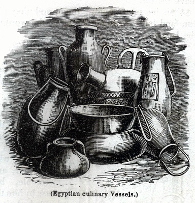 Egyptian culinary Vessels