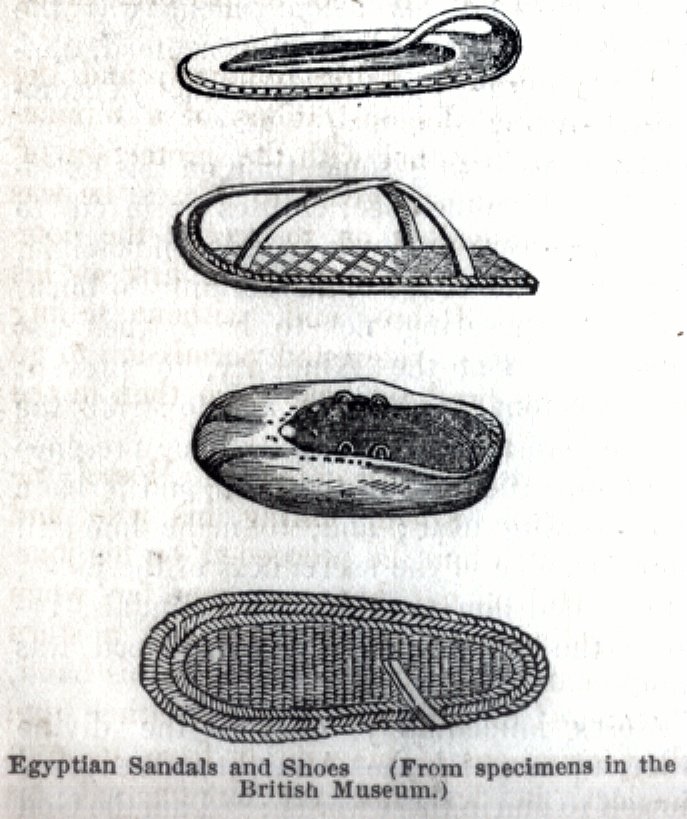 Egyptian Sandals and Shoes