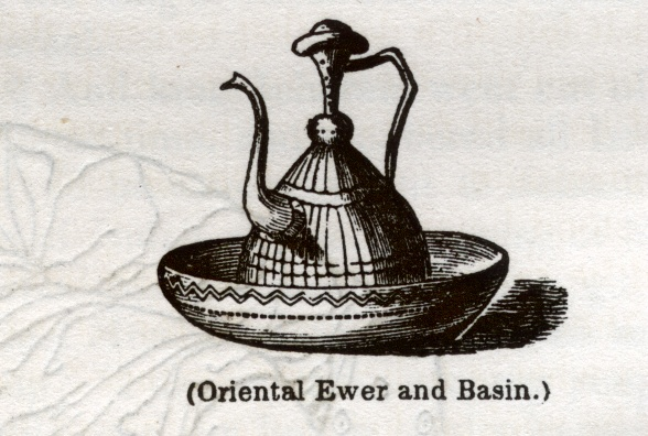 Oriental Ewer and Basin