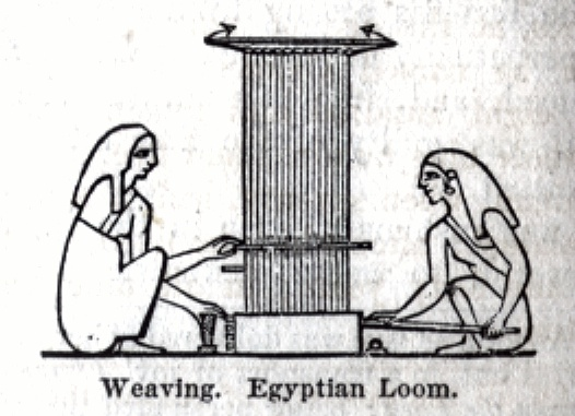 Weaving - Egyptian Loom