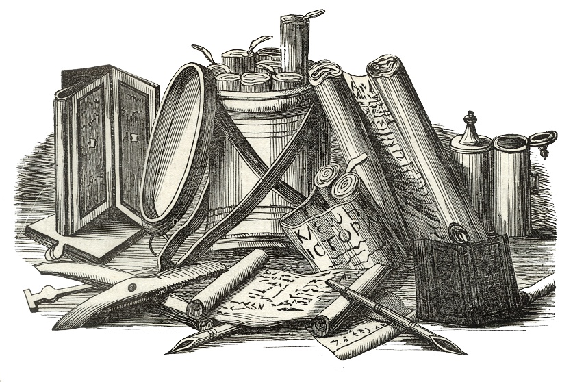 Writing Materials and Implements