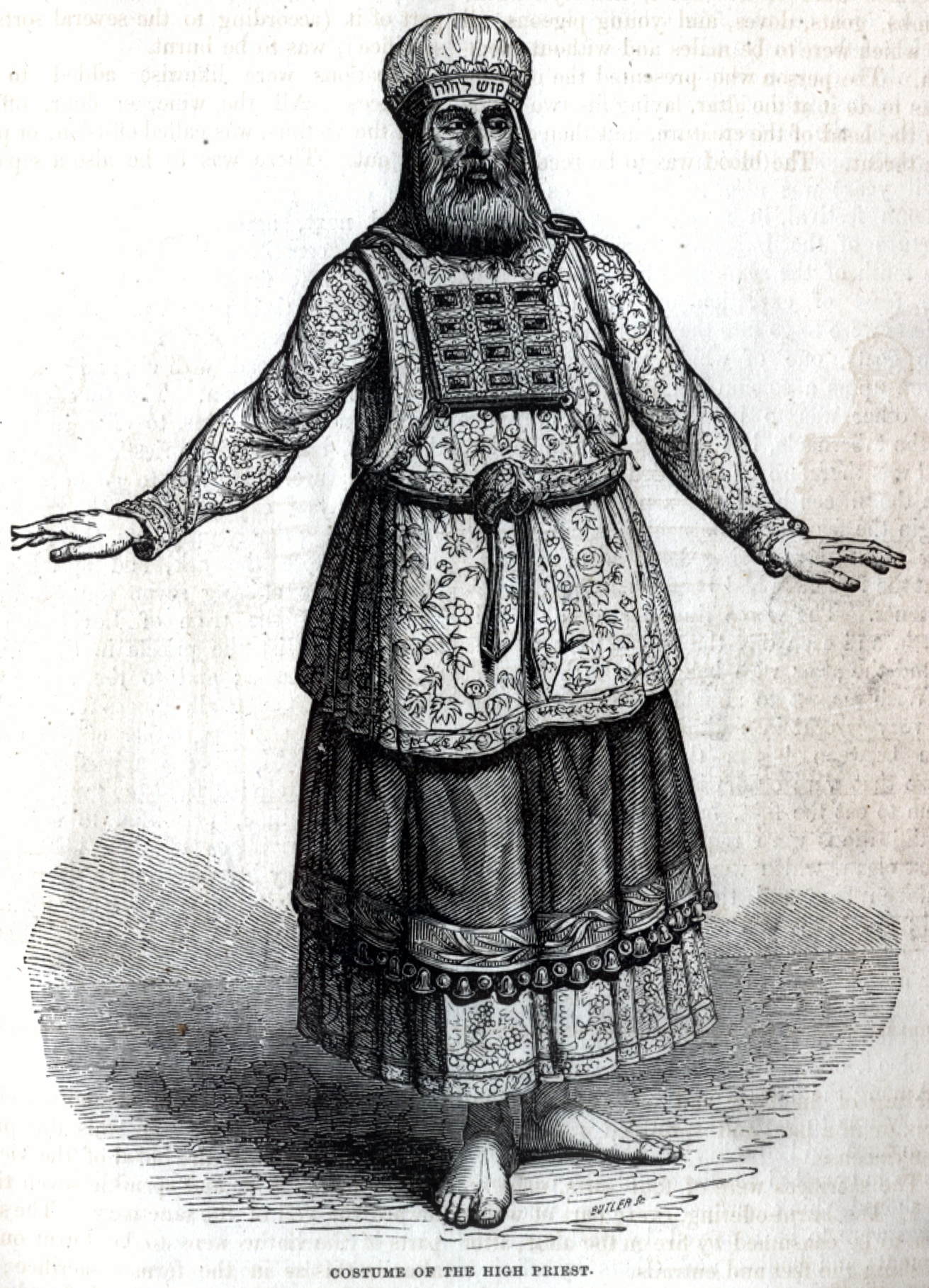 Costume of the High Priest