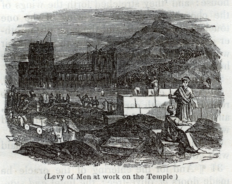 Levy of Men Working on the Temple