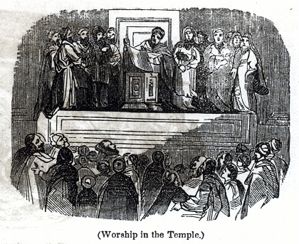 Worship in the Temple