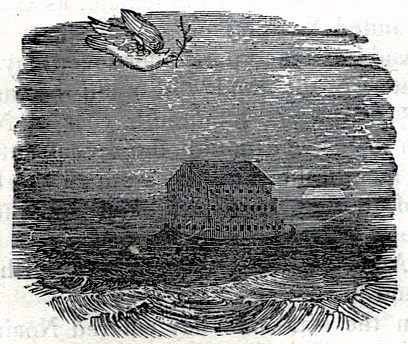Noah's Dove with Ark and Branch