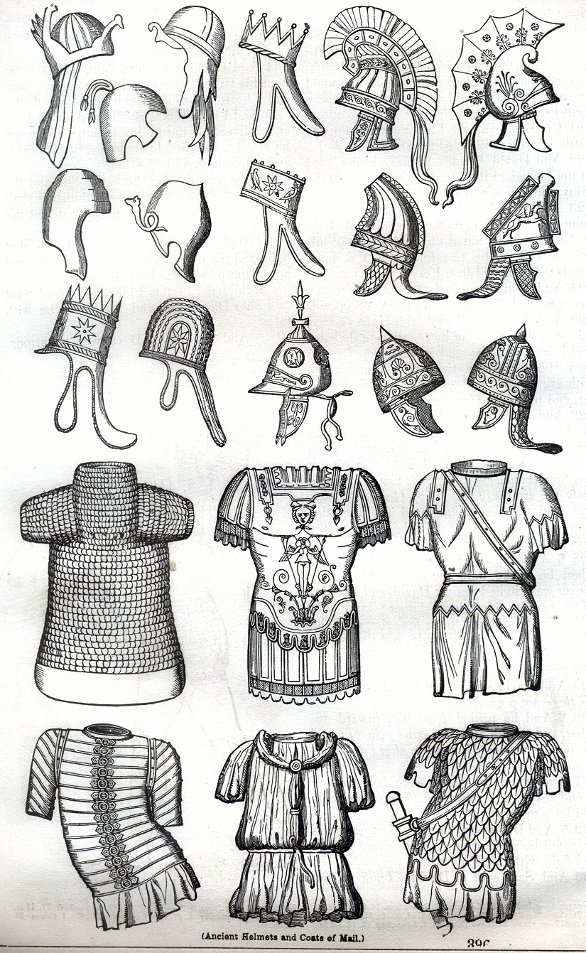 Ancient Helmets and Coats of Mail