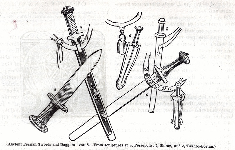 Ancient Persian Swords and Daggers