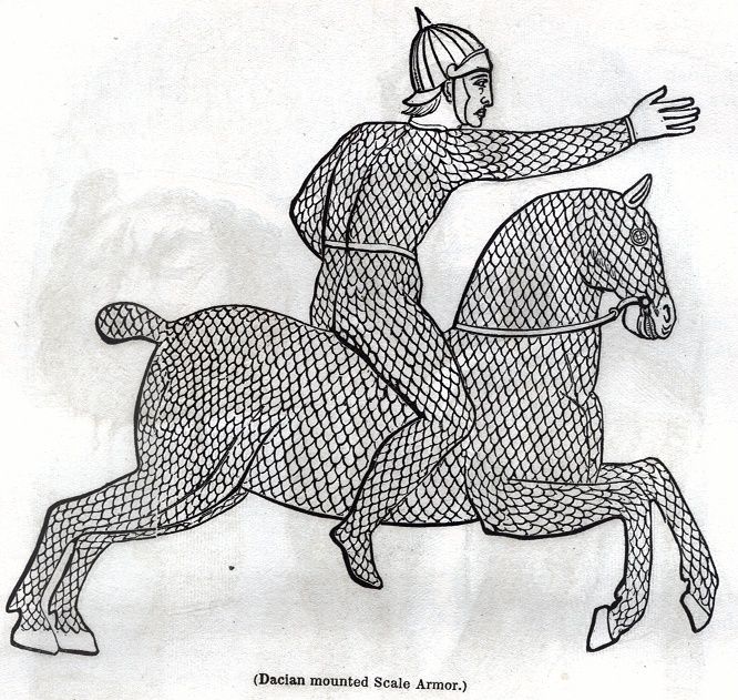 Dacian mounted Scale Armor